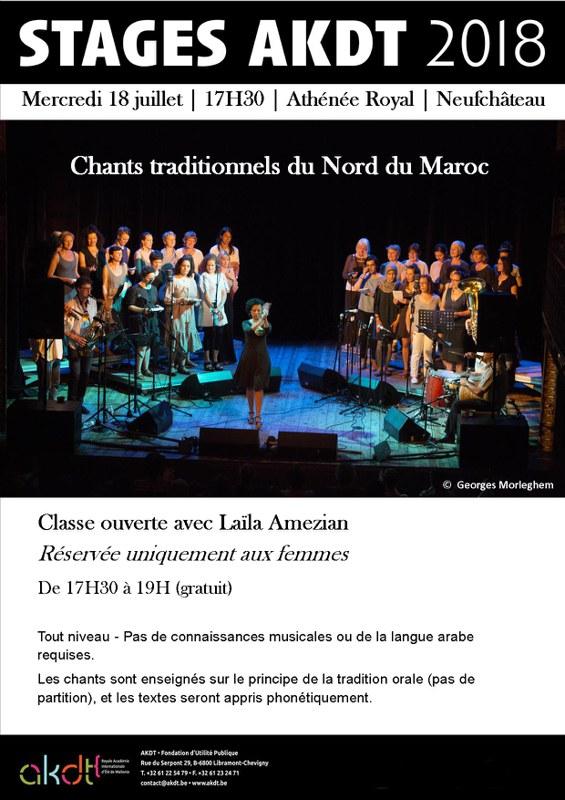 chants marocains