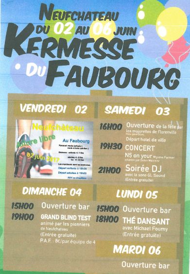 kermesse Faubourg
