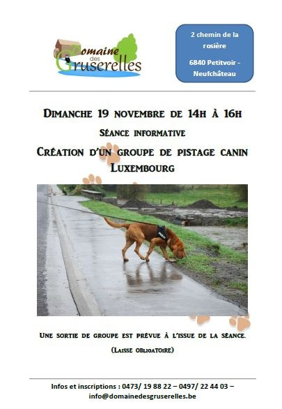 pistage canin